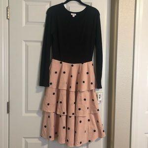 NWT LuLaRoe Georgia dress, Sz M